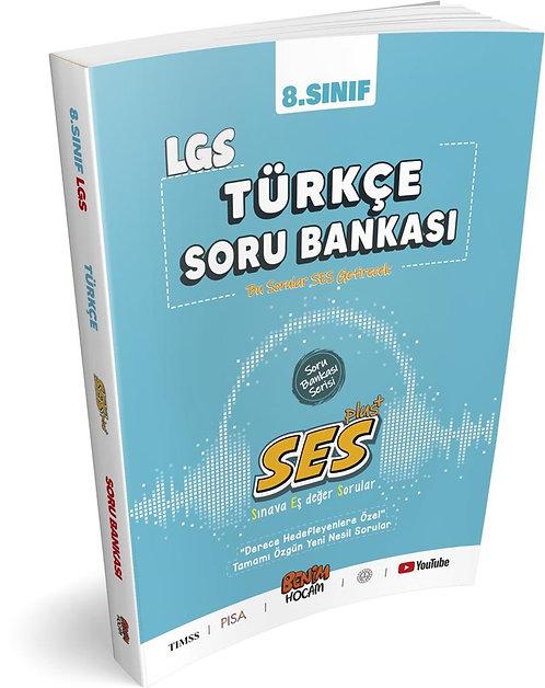 LGS 8.Sınıf SES Serisi Türkçe Soru Bankası Benim Hocam Yayınları