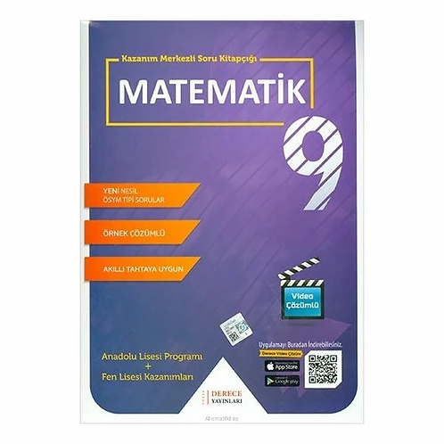 Derece 9. Sınıf Matematik Set