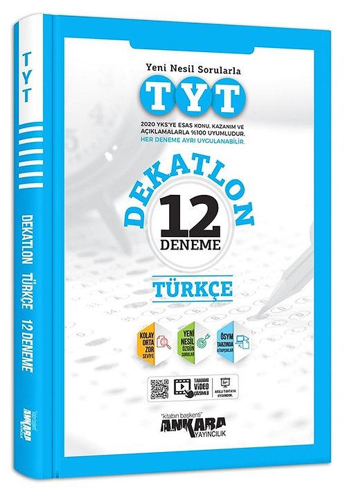 TYT Dekatlon Türkçe 12 Deneme Sınavı