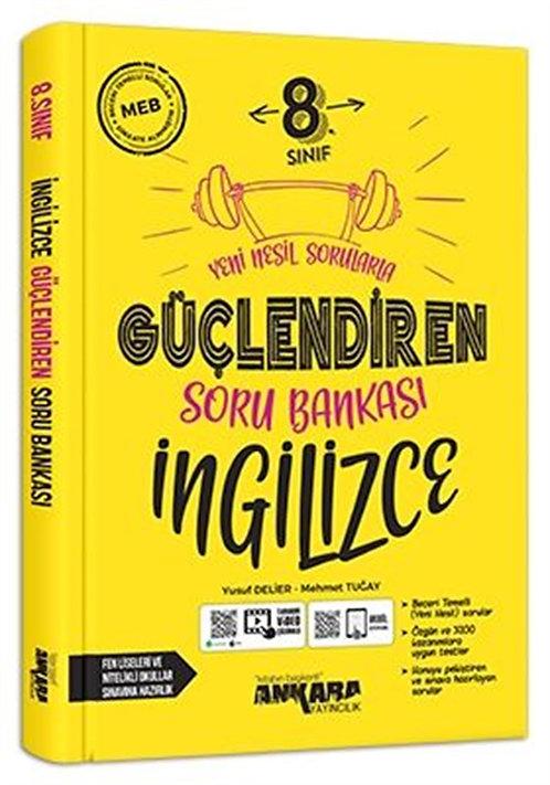 Ankara Yayıncılık 8. Sınıf Güçlendiren İngilizce Soru Bankası (2021)