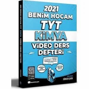 Benim Hocam Yayınları 2021 TYT Kimya Video Ders Defteri