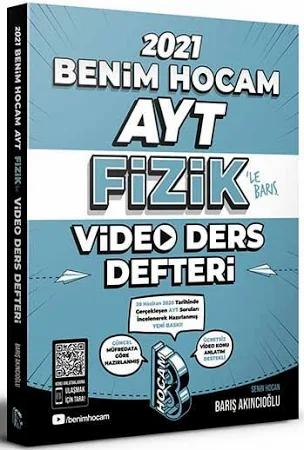 Benim Hocam Yayınları 2021 Ayt Fizik Video Ders Defteri