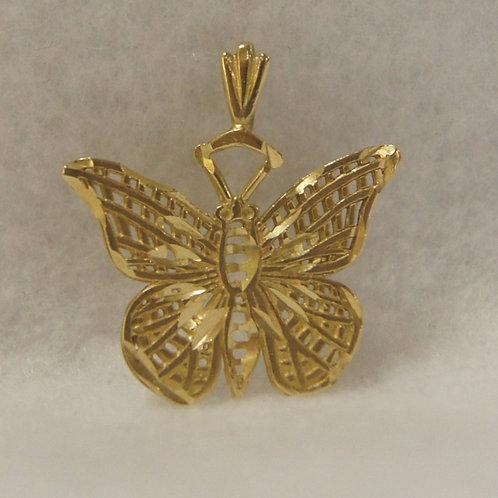 Women's Butterfly Charm