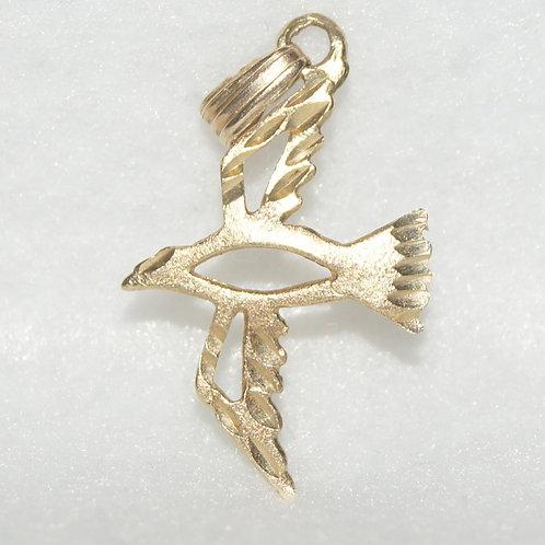 Unisex Peace Dove Charm