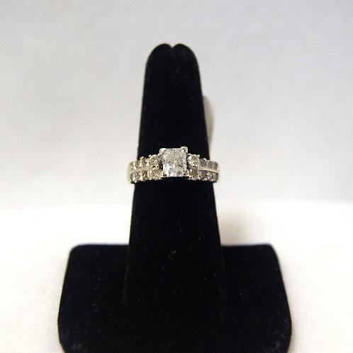 Women's Elongated Radiant Cut Wedding Ring