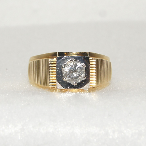 Men's Two Toned Gold Ring