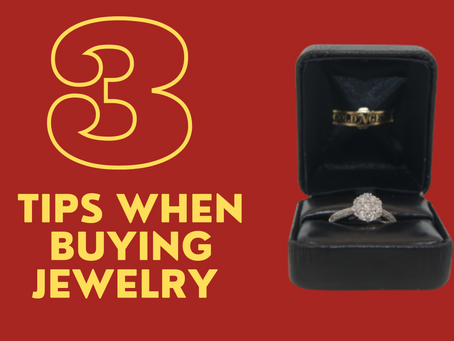 3 Tips When Buying Jewelry