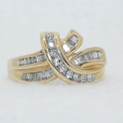 Women's Diamond Baguette Ring