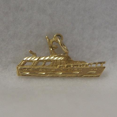 Unisex Yacht Charm