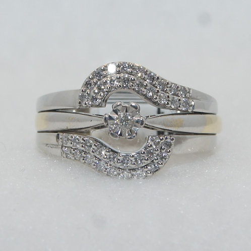Women's Diamond Ring & Diamond Ring Insert