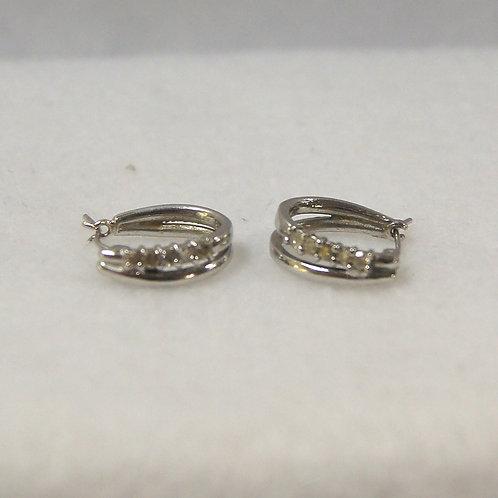 Women's White Gold Diamond Earrings