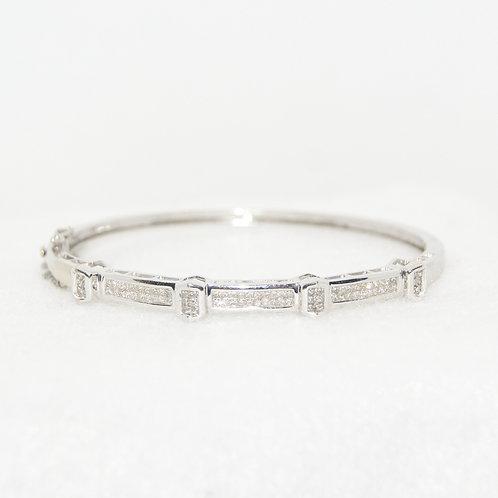 Women's Princess Cut Diamond Bracelet