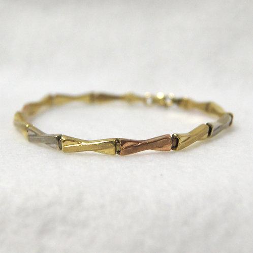 Women's Tri Color Bracelet