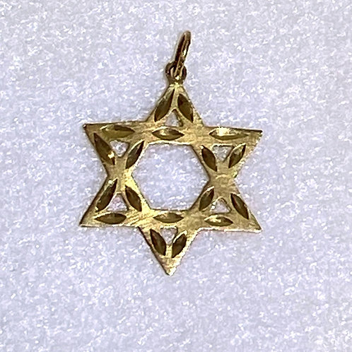 Men's Star of David Charm