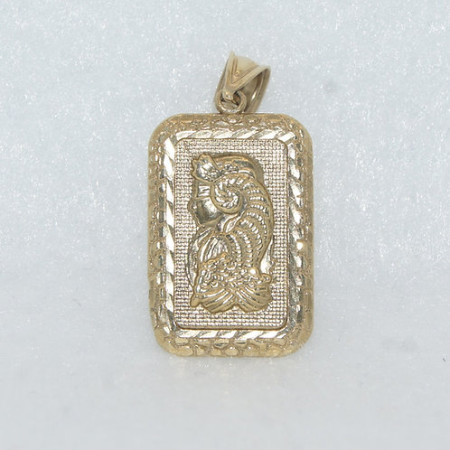 10k Gold Bar Charm