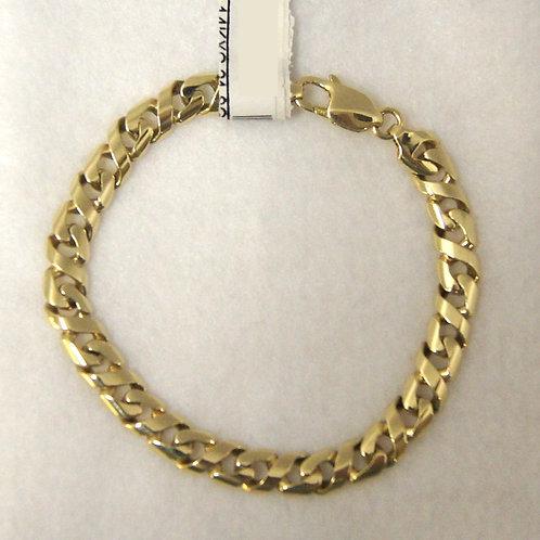 Flat Cuban Link Bracelet