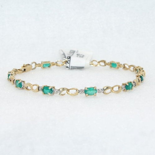 Women's Emerald Bracelet