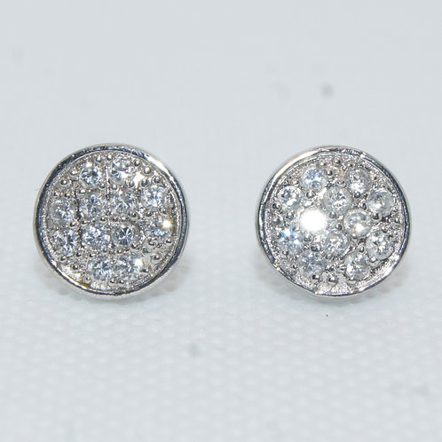 Women's Round Diamond Earrings