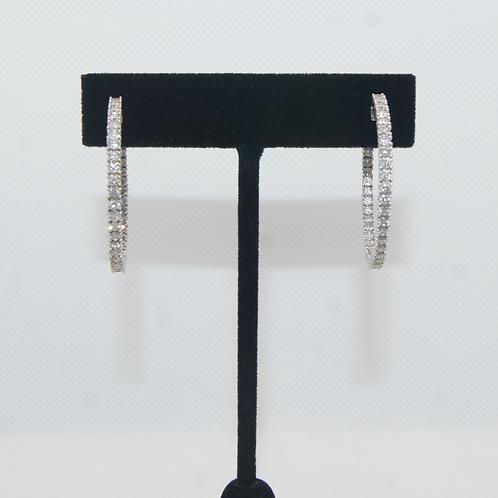 Women's Diamond Hoops