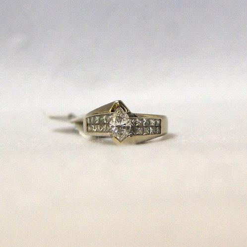 Women's Diamond Marquise Ring