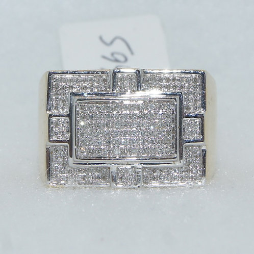 Men's 10k Diamond Ring