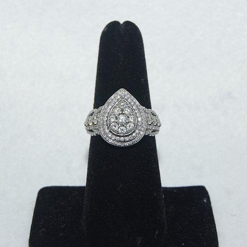 Women's Cluster Ring