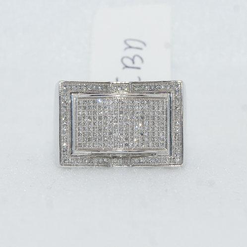 Men's Pave Set Ring