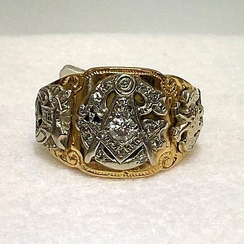 Men's Masonic Ring