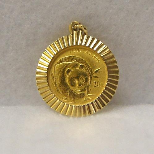 Unisex 1/20 oz Gold Panda