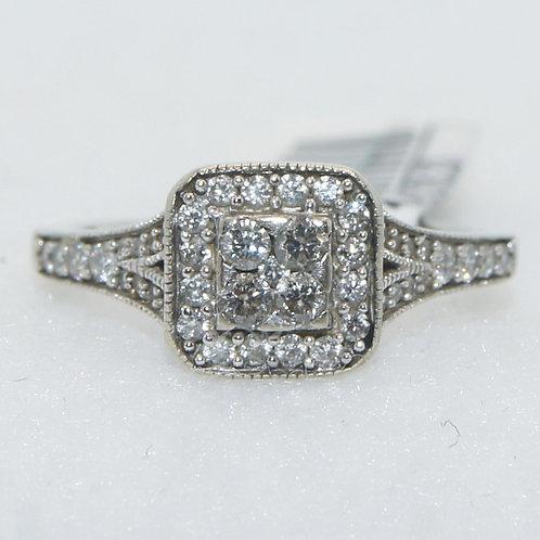 Women's White Gold Ring