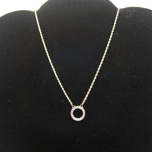 Women's Round Dangler Necklace