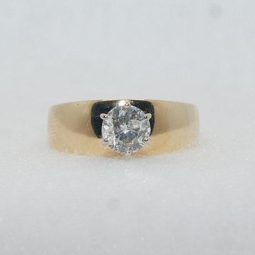 Women's Solitaire Diamond Ring