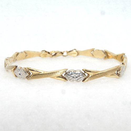 Women's Two Toned Bracelet