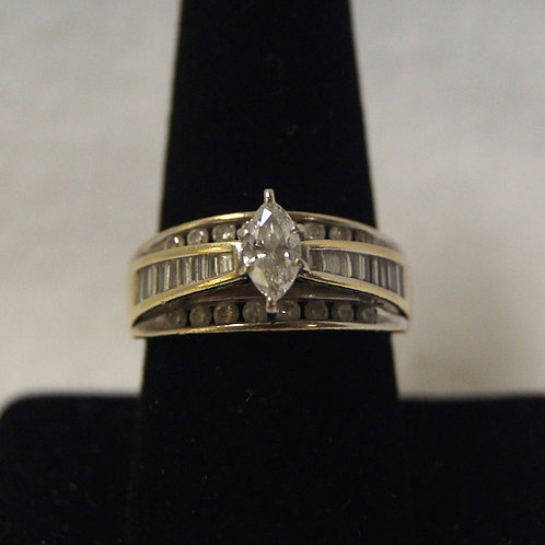 Women's Marquise Diamond Ring