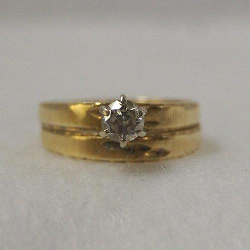 Women's Round Diamond Ring