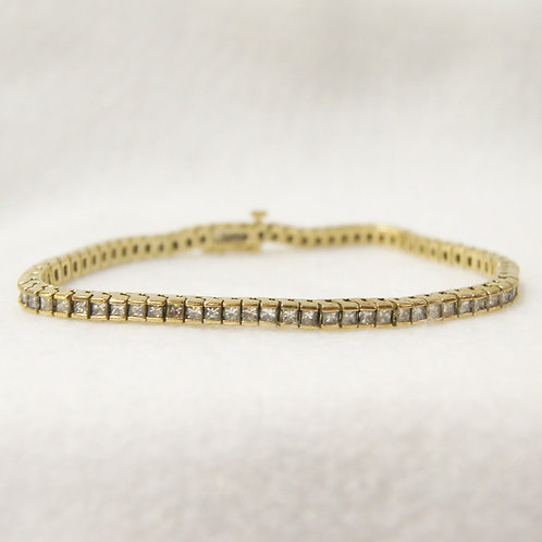Women's 14k Gold Tennis Bracelet