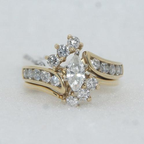 Women's Marquise Cut Diamond Ring