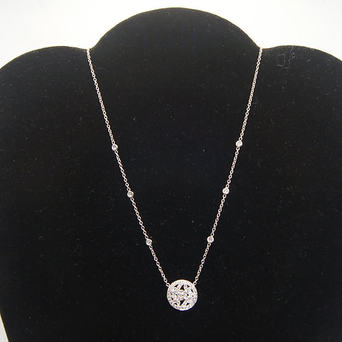 Women's White Gold Necklace