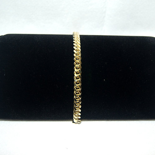 Men's Cuban Link Bracelet (semi-hollow)