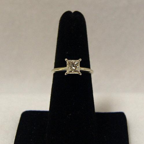 Women's Princess Cut Wedding Ring