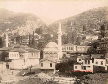 Vue panoramique de Brousse et de Gueuk Dere 23. 1894