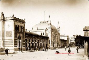 Gare des chemins de fer orientaux. 1894