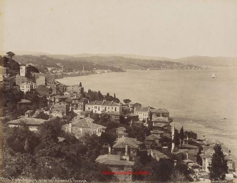 Vue du Bosphore, prise des Chateaux d'Europe 244. 1890s