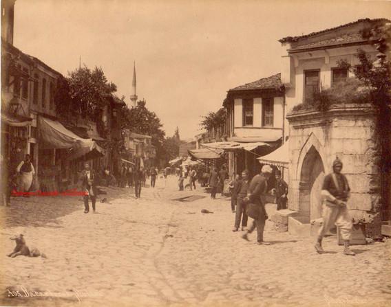 Bazar turc a Scutari 405. 1890s