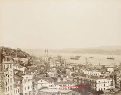 Vue panoramique de Top Hane et du Bosphore 467. 1889
