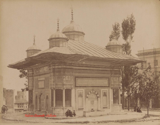 Fontaine du Sultan Ahmed a Stamboul 142. 1890s