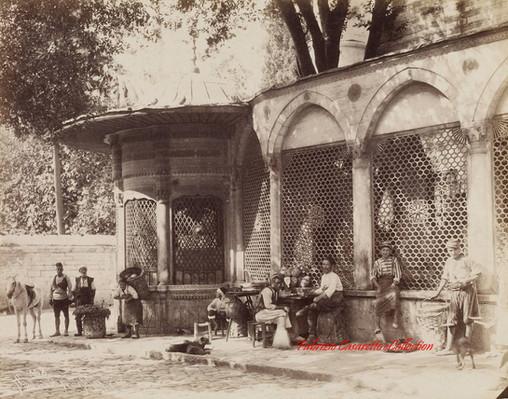 Sebil de la Mosquee Schah Zade 168. 1880s