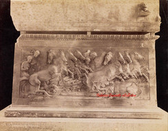 Sarcophage Lycien 65. 1900s