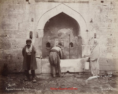 Ancienne fontaine a Scutari 562. 1890s..