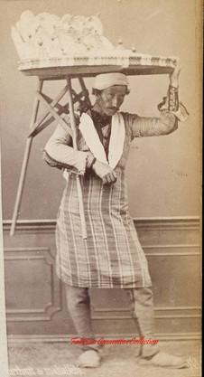 Marchand de mahallebi. 1880s